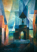 Ballard Paintings - Belltower by Paul Spielman