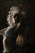 Egyptian Paintings - Belly Dancer by Corporate Art Task Force