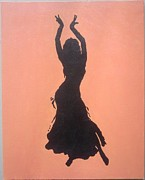 Trina Woods - Belly Dancer Silhouette
