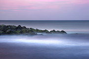 Jersey Shore Metal Prints - Belmar on the Rocks Metal Print by Marco Crupi