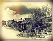 Oldzero Photos - Belmont Ghost Town by Steve Benefiel