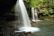 Richland Creek Photos - Below Twin Falls - MP0025 by Matthew Parks