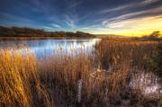 Nigel Hamer - Bembridge Lagoons Sunset