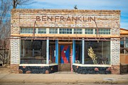 Downtown Franklin Prints - Ben Fraklin Print by Allen Biedrzycki