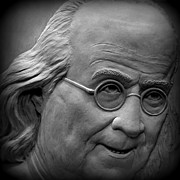 July 4th 1776 Posters - Ben Franklin Holga Style Poster by Richard Reeve