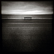 Minimal Landscape Framed Prints - Bench Framed Print by David Bowman
