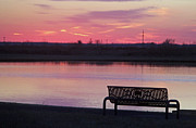 Carol Oberg Riley - Bench in Sunset