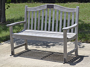 Benches Photo Originals - Bench in the Park by Ruth  Housley