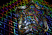 Neon Effects Prints - Bending Light 2 Print by Charlie Brock