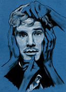 Benedict Drawings Prints - Benedict Cumberbatch Print by Teresa Beveridge