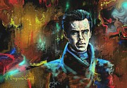 Movie Art Paintings - Benedict by Francoise Dugourd-Caput
