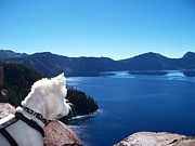 Dogs Mixed Media - Beni on a Journey Around Crater Lake by Photography Moments - Sandi