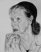 Photo Realism Drawings - Benita by Rodrigo Luna
