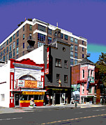 Washington D.c. Mixed Media - Bens Chili Bowl by Charles Shoup