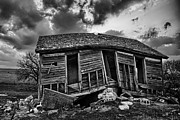 Despair Prints - Bent Farmstead Print by Thomas Zimmerman