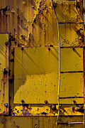 Peeling Paint Prints - Bent ladder Print by Garry Gay