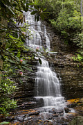 Rock Spring Trail Prints - Benton Falls Print by Debra and Dave Vanderlaan