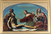 Man Of Sorrow Framed Prints - Benvenuti Giovanni Battista Known Framed Print by Everett