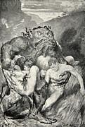 Beowulf Print Print by John Henry Frederick Bacon