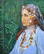 Berber Woman Print by Enzie Shahmiri
