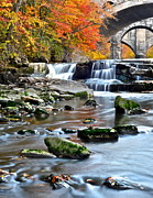 Berea Falls Ohio Print by Frozen in Time Fine Art Photography