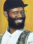 Jamaican Music Paintings - Beres Hammond - Music is Life by Kenneth Harris