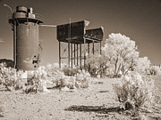 Ruins Metal Prints - Beresford Siding Outback Australia Metal Print by Colin and Linda McKie