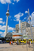 Bahn Prints - Berlin Alexanderplatz Print by Colin Utz