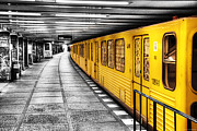 Hybrid Metal Prints - Berlin Bahnhof Metal Print by Ryan Wyckoff