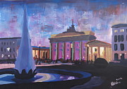 Berlin Brandenburger Tor Print by M Bleichner