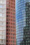Bahn Metal Prints - Berlin buildings detail Metal Print by Matthias Hauser