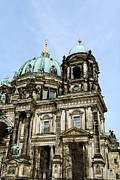 Berlin Germany Mixed Media - Berlin Cathedral by Design Windmill