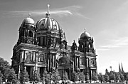 Berlin Cathedral Framed Prints - Berlin Cathedral Framed Print by Galexa Ch