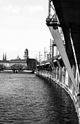Berlin Germany Prints - Berlin Curves Print by John Rizzuto