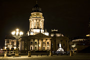 Iconic Places Prints - Berlin Gendarmenmarkt Print by Frank Tschakert