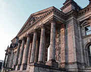 Berlin - Reichstag - Front - 02 Print by Gregory Dyer