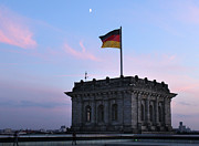 Berlin - Reichstag Roof - No.01 Print by Gregory Dyer