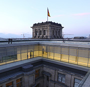 Berlin - Reichstag Roof - No.04 Print by Gregory Dyer