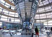 Berlin - Reichstag Roof - No.05 Print by Gregory Dyer