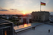 Berlin - Reichstag Roof - No.07 Print by Gregory Dyer