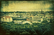 Panorama Digital Art Originals - Berlin - stylized to old by Gynt