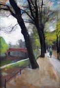 Berlin Tiergarten Walk Print by Stefan Kuhn