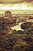 Berlin Tapestries Textiles Originals - Berlin / View by Gynt