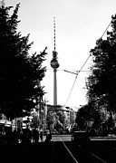 Berlin Art - Berlins streets in black and white No.3 by Falko Follert