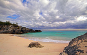 Bermuda Secret Beach Print by Charline Xia