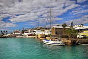 Boat Photo Framed Prints - Bermuda St George Harbour Framed Print by Charline Xia