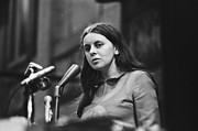 Irish Republican Army Framed Prints - Bernadette Devlin Framed Print by David Vine