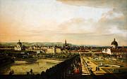 Bernardo Bellotto Wien Vom Belvedere Aus Gesehen 1758 1761 Print by MotionAge Designs