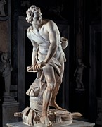 Borghese Posters - Bernini Gian Lorenzo, David, 1623 - Poster by Everett