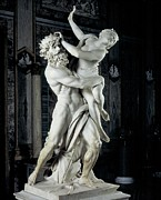Borghese Posters - Bernini Gian Lorenzo, The Rape Poster by Everett